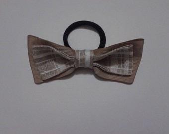 Hair elastic with bow