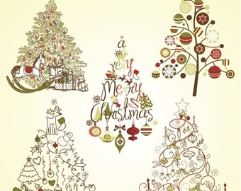 Popular items for vector christmas on Etsy