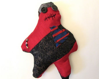 Urchin Quilted rag doll