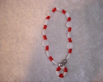 Life Preserver Charm Bracelet