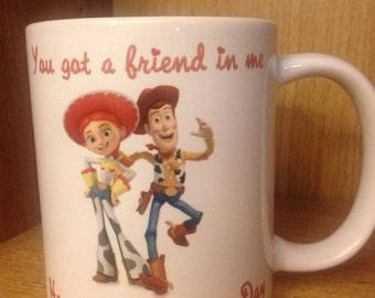 Toystory valentines mug