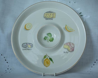 IDEAL IRONSTONE WARE Savoury Platter Made In Japan #39905