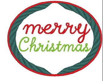 Christmas,Merry Christmas Embroidery Design