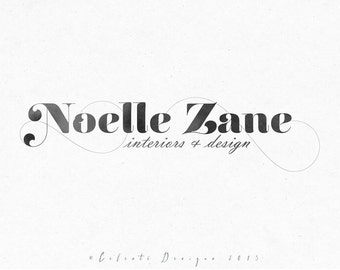 Premade Logo - Monochrome typography logo