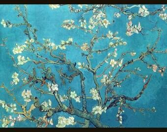 Vincent Van Gogh - Almond Blossom - Framed
