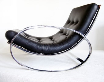 MILO BAUGHMAN Rocker Rocking Chair |  Lounge Chair