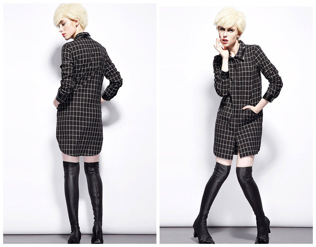 Awesome Women39s Plaid Shirt Dress Merona Product Details Page