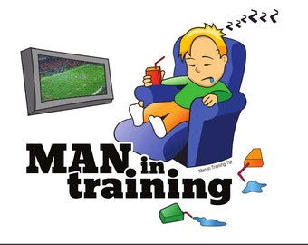 Man in Training Recliner T-Shirt