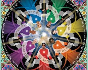 Divine Spark Mandala