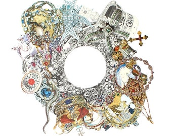 Collage Art Jewellery