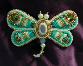 The Dragonfly hair jewels