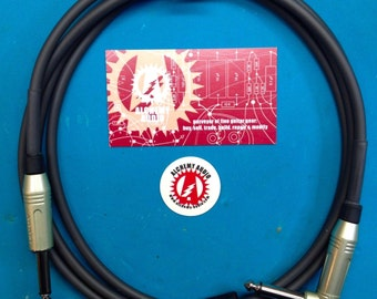 Alchemy Audio 'Whisper' 12 foot Custom Instrument Guitar 1/4 Inch Cables