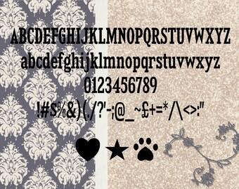 Novel Evolution Mini Alphabet 1