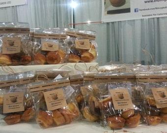 Assorted Bibites Bag (bite-sized bibingkas in a bag) Gluten Free Filipino Baked Goods
