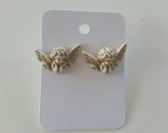 Cherub Earrings / Angel Jewelry / Cherub Accessories / Earrings / Novelty Gift / Novelty Earring / Angel Earrings