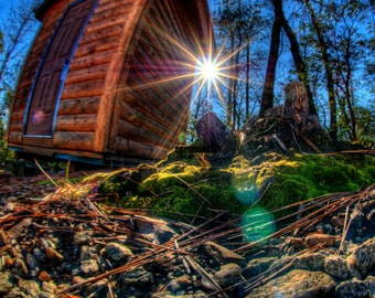 Mountain Tool Shed_Ultra High Definition Art