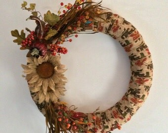 FALL SALE! Autumn Wreath