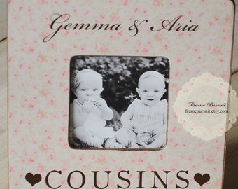 Wedding Gift Ideas For Cousin Brother : Cousin Christmas Gift Personalized Frame Brother Sisters Siblings Gift ...