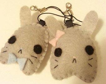 Bunny Plush Keychain, Bunny Plush, Rabbit keychain, Bunny accessory, Rabbit plush, Kawaii Keychain, Kawaii Plush, Kawaii accesory
