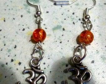 Earrings Indian ohm
