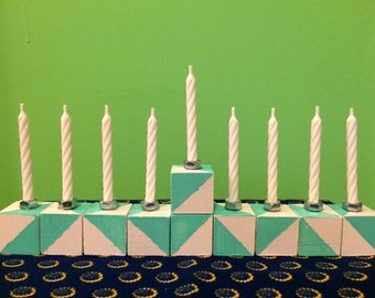 Handmade Menorah Hanukkah