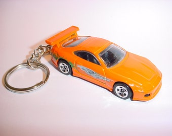 3D Toyota Supra custom keychain keyring key chain from Fast and the Furious movie