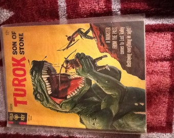 Gold Key- TUROK- Son of Stone # 50 Vintage Comic Book