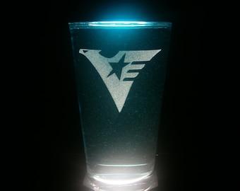 Titans Mobile Suit Zeta Gundam Pint Glass