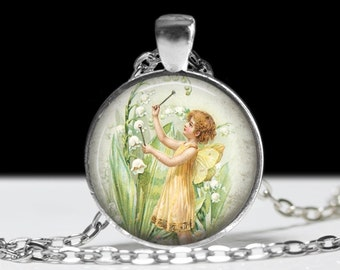 Fairy Jewelry Fairy Necklace Pendant Charm Wearable Charm
