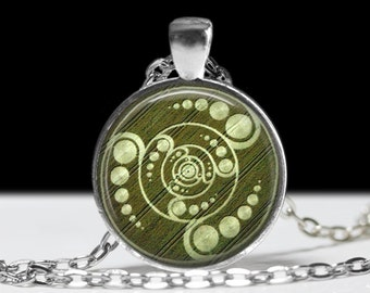 Crop Circle Necklace Wearable Art Crop Circle Jewelry