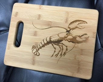 Lobster Cutting Board