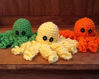 Crochet octopus or squid