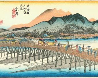 24x36 Poster; Kyoto Japan 1833