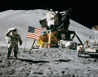 24x36 Poster; Apollo 15