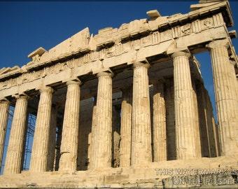 24x36 Poster; Parthenon