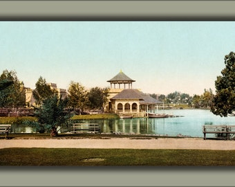 24x36 Poster; West Side Park, Los Angeles, California, 1902
