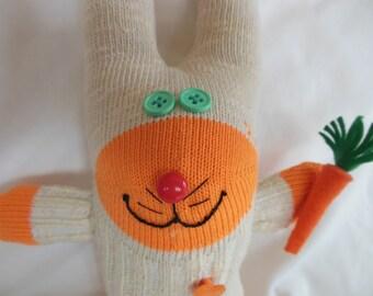Sock Creature - Carrot Breath