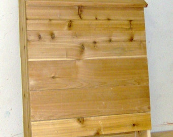 Brand New Huge 5 Chamber Bat House with Nursery Ledges - All Cedar - Free Shipping