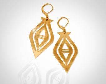 Earrings Golden Alex Alkalene