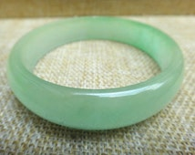 Free shipping Chinese spinach jade bracelet natural jade bracelet (inner diameter 59mm)