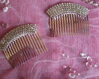 Crystal Arch Silver Wedding Hair Comb / Bridal Hair Comb / Special Occasion / Wedding Hair Comb