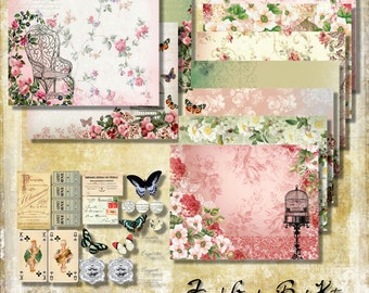 The French Garden Printables Book Kit