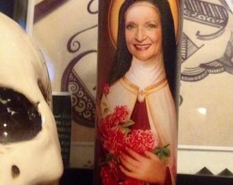 St Rose Nylund Betty White Golden Girls Prayer Candle