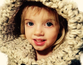 Hooded Cowl - Child/Toddler FREE SHIPPING