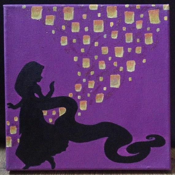 Disney Tangled Silhouette Disney Tangled Rapunzel