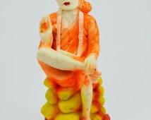 Handmade Shri Shirdi Saibaba Statue in Stone dust