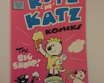 """1985 Eclipse Comics """"Kitz-N-Katz Komics #4"""