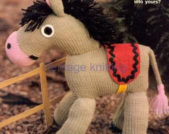 donkey toy dk knitting pattern 99p pdf