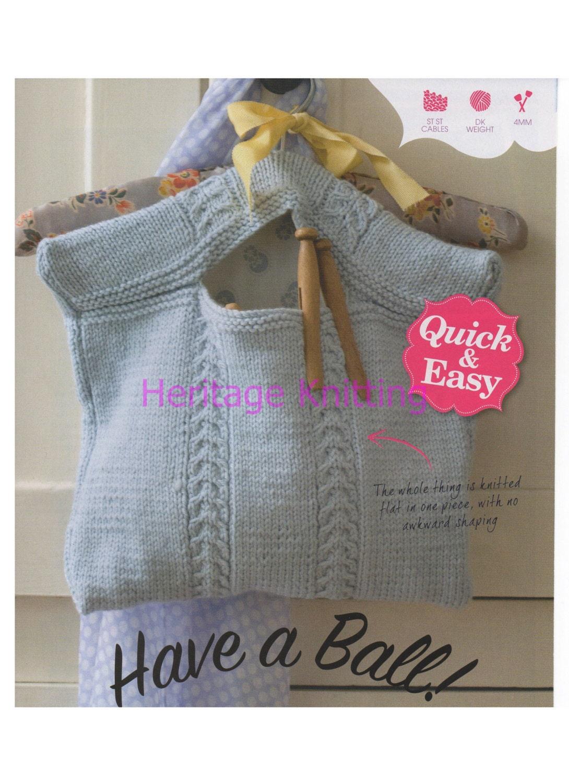 Knitting Pattern For A Peg Bag : peg bag dk knitting pattern 99p