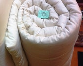 Organic Cotton Mattress Topper